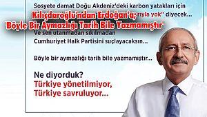 Kılıçdaroğlu'ndan Erdoğan'a; 'Böyle Bir Aymazlığı Tarih Bile Yazmamıştır'