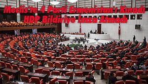 Meclis'te 4 parti Ermenistan'ı Kınadı! HDP bildiriye imza atmadı