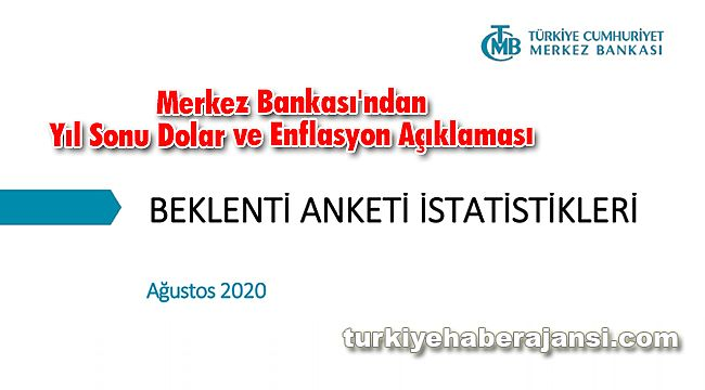 Merkez Bankası Yıl Sonu Dolar ve Enflasyon Açıklaması