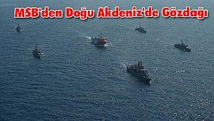 MSB'den Doğu Akdeniz'de Gözdağı