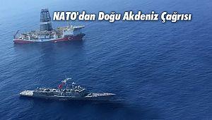 NATO'dan Doğu Akdeniz Çağrısı