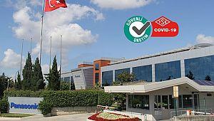 Panasonic'e, Covid-19 Güvenli Üretim Belgesi