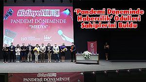 'Pandemi Döneminde Habercilik' Ödülleri Sahiplerini Buldu