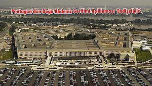Pentagon'dan Doğu Akdeniz Gerilimi Açıklaması 'Endişeliyiz'