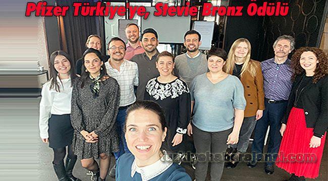 Pfizer Türkiye'ye, Stevie Bronz Ödülü