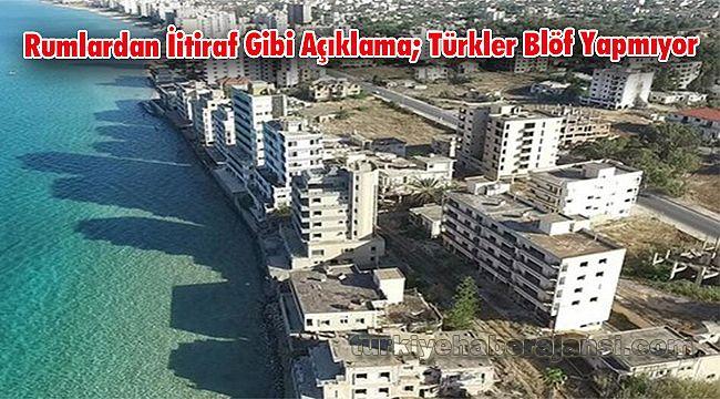 Rumlardan İtiraf Gibi Açıklama; Türkler Blöf Yapmıyor