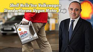 Shell Helix'ten Volkswagen Standartlarına Uygun Motor Yağı