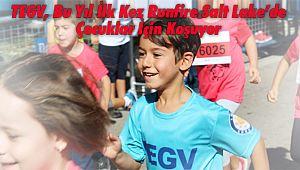 TEGV, Bu Yıl İlk Kez Runfire Salt Lake'de Çocuklar İçin Koşuyor