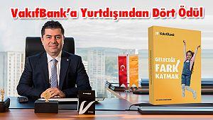 VakıfBank'a Yurtdışından Dört Ödül