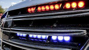 Yetkisiz ÇAKAR takan 46 araç sürücüsüne CEZA kesildi