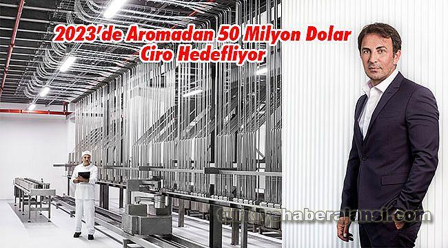 2023'de Aromadan 50 Milyon Dolar Ciro Hedefliyor