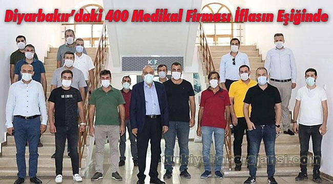 Diyarbakır'daki 400 Medikal Firması İflasın Eşiğinde