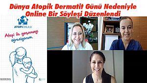 Dünya Atopik Dermatit Günü Nedeniyle Online Bir Söyleşi Düzenlendi
