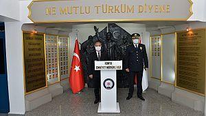 EGM Aktaş'tan Konya Emniyet Müdürlüğüne Ziyaret