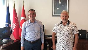 İBB Zabıta Daire Başkanı Ulusoy'a MESLEKTAŞ ZİYARETİ