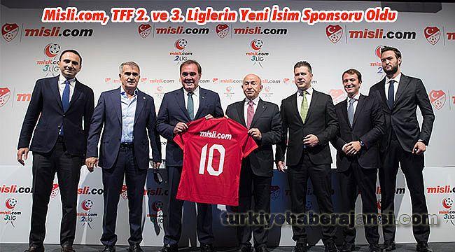 Misli.com, TFF 2. ve 3. Liglerin Yeni İsim Sponsoru Oldu