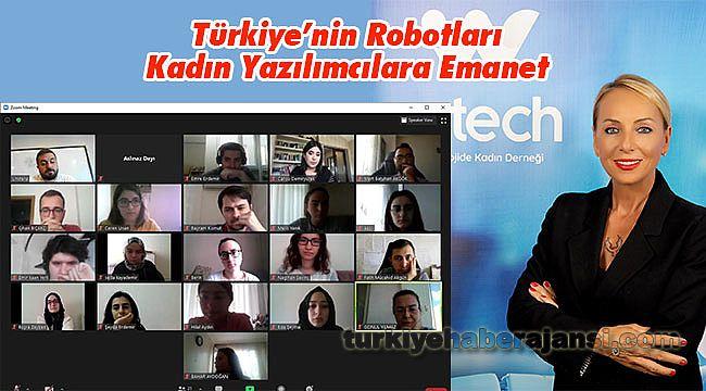 Türkiye'nin Robotları Kadın Yazılımcılara Emanet