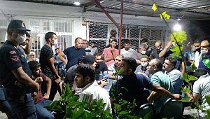 Vatandaşlar Yolu Trafiğe Kapattılar, EDS Kamerası İstediler