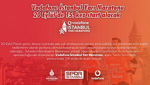 Vodafone İstanbul Yarı Maratonu 20 Eylül'de 15. kez start alacak