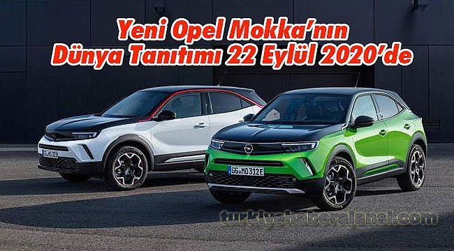 Yeni Opel Mokka'nın Dünya Tanıtımı 22 Eylül 2020'de