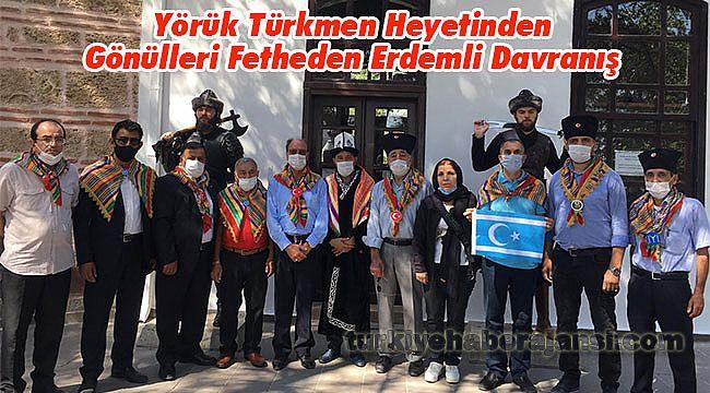Yörük Türkmen Heyetinden Gönülleri Fetheden Erdemli Davranış