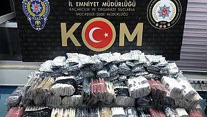 Adana'da 1585 litre boğma rakı ele geçirildi