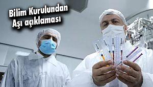 Bilim Kurulundan Aşı açıklaması