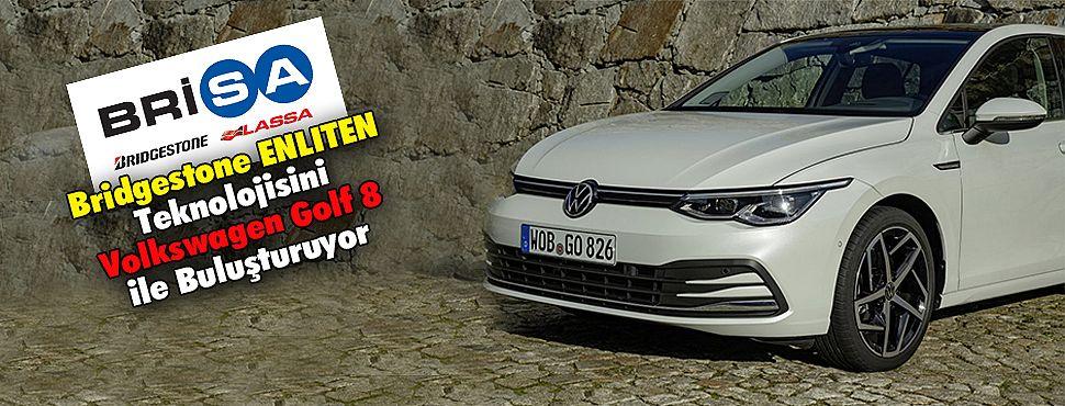 Bridgestone ENLITEN teknolojisiniVolkswagen Golf 8 ile Buluşturuyor