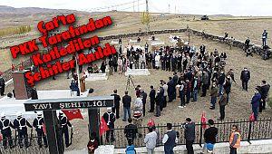Çat'ta PKK Tarafından Katledilen Şehitler Anıldı