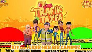 Çocuklar şimdi TRT TV'de TRAFİK TAYFA izliyor..!