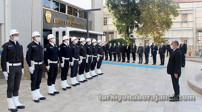 EGM Aktaş, İzmir İl Emniyet Müdürlüğünü Ziyaret Etti