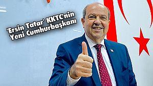 'Ersin Tatar' KKTC'nin yeni Cumhurbaşkanı