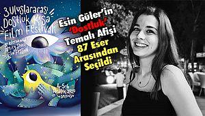 Esin Güler'in 'Dostluk' Temalı Afişi 87 Eser Arasından Seçildi