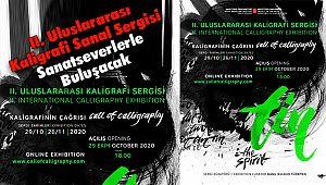 II. Uluslararası Kaligrafi Sanal Sergisi Sanatseverlerle Buluşacak