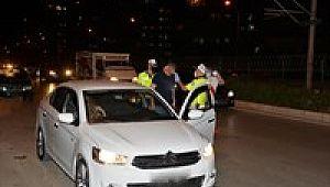 İki Günlük Alkol Denetimi : 2115 Sürücüye CEZA