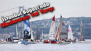 İstanbul Boğazı'nda Uluslararası Yat Yarışı