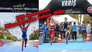 İstanbul Sprint Triatlonu 300 Sporcunun Mücadelesine Sahne Oldu