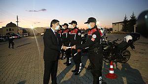 Kütahya'da Motosikletli Polis Timleri Göreve Başladı