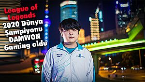 League of Legends 2020 Dünya Şampiyonu DAMWON Gaming oldu