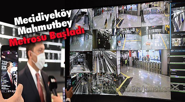 Mecidiyeköy - Mahmutbey Metrosu Başladı