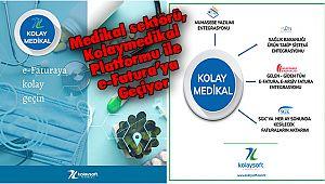 Medikal sektörü, Kolaymedikal Platformu ile e-Fatura'ya Geçiyor