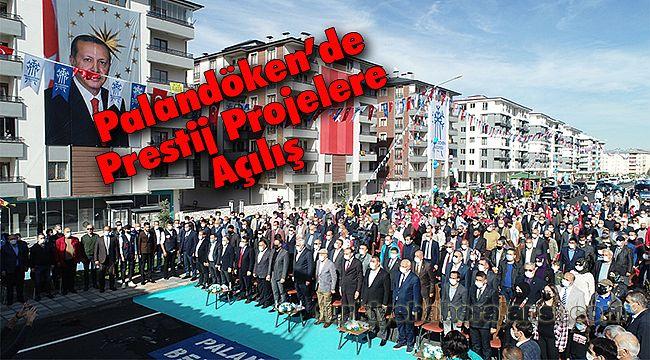 Palandöken'de Prestij Projelere Açılış