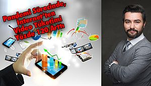 Pandemi Sürecinde, İnternet'ten Video Tüketimi Yüzde 120 Arttı
