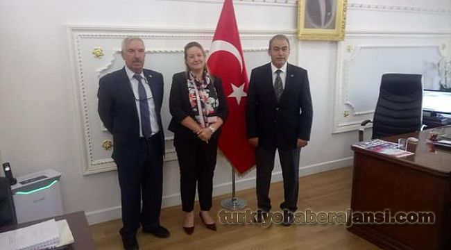POLEM'den Polis Kızı İstanbul Vali Yardımcısı Bozkurt'a ZİYARET