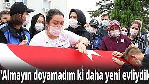 Şehit Motosikletli Polis son yolcuğuna uğurlandı