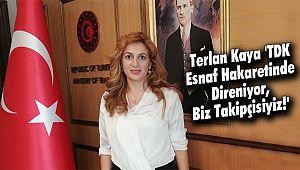 Terlan Kaya 'TDK Esnafa Hakaretinde Direniyor'