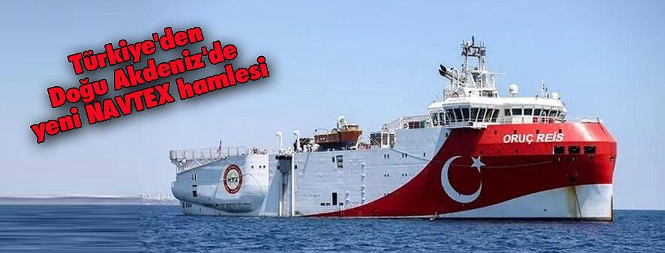 Türkiye'den Doğu Akdeniz'de yeni NAVTEX hamlesi
