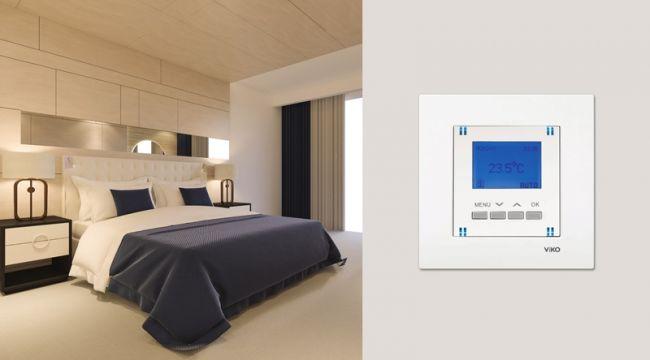 Viko'dan Zemin Altı Dijital Termostat
