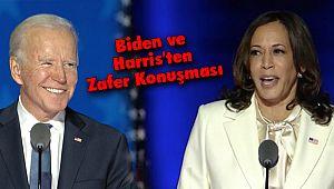 ABD'nin Yeni Başkanı Biden ve Yardımcısı Harris'ten Zafer Konuşması