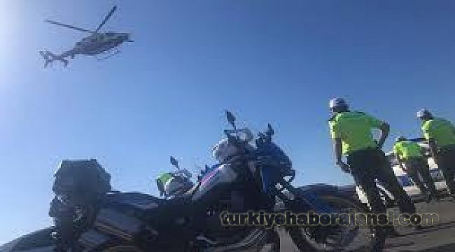 Antalya Trafiği Havadan ve Karadan Denetlendi